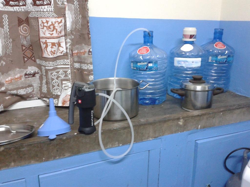 Unsere Trinkwasserstation