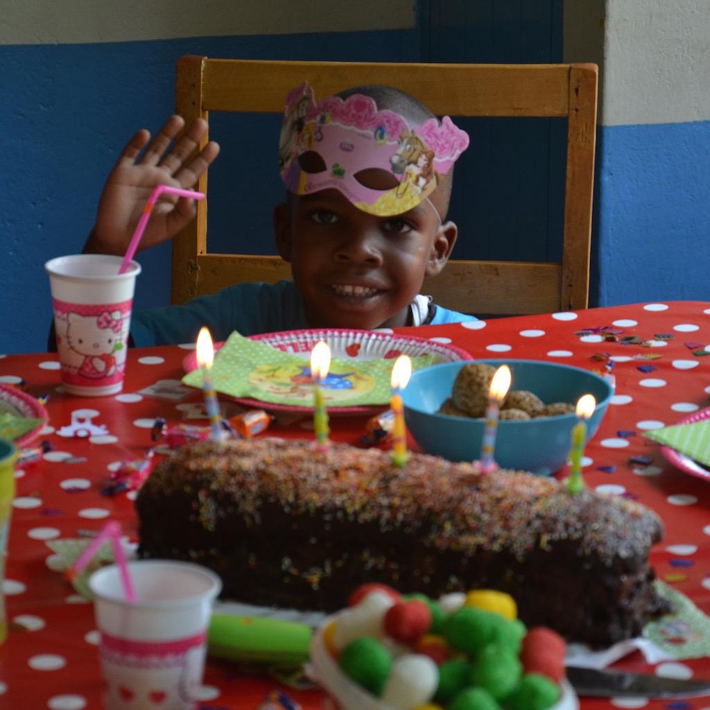 Chadley, mit drei Jahren der Jüngste